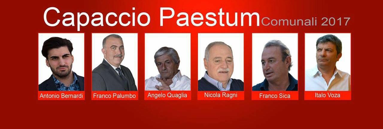 Capaccio-candidati sindaco