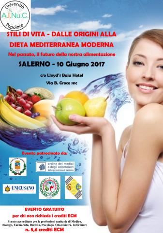 Salerno-stili di vita-dieta mediterranea