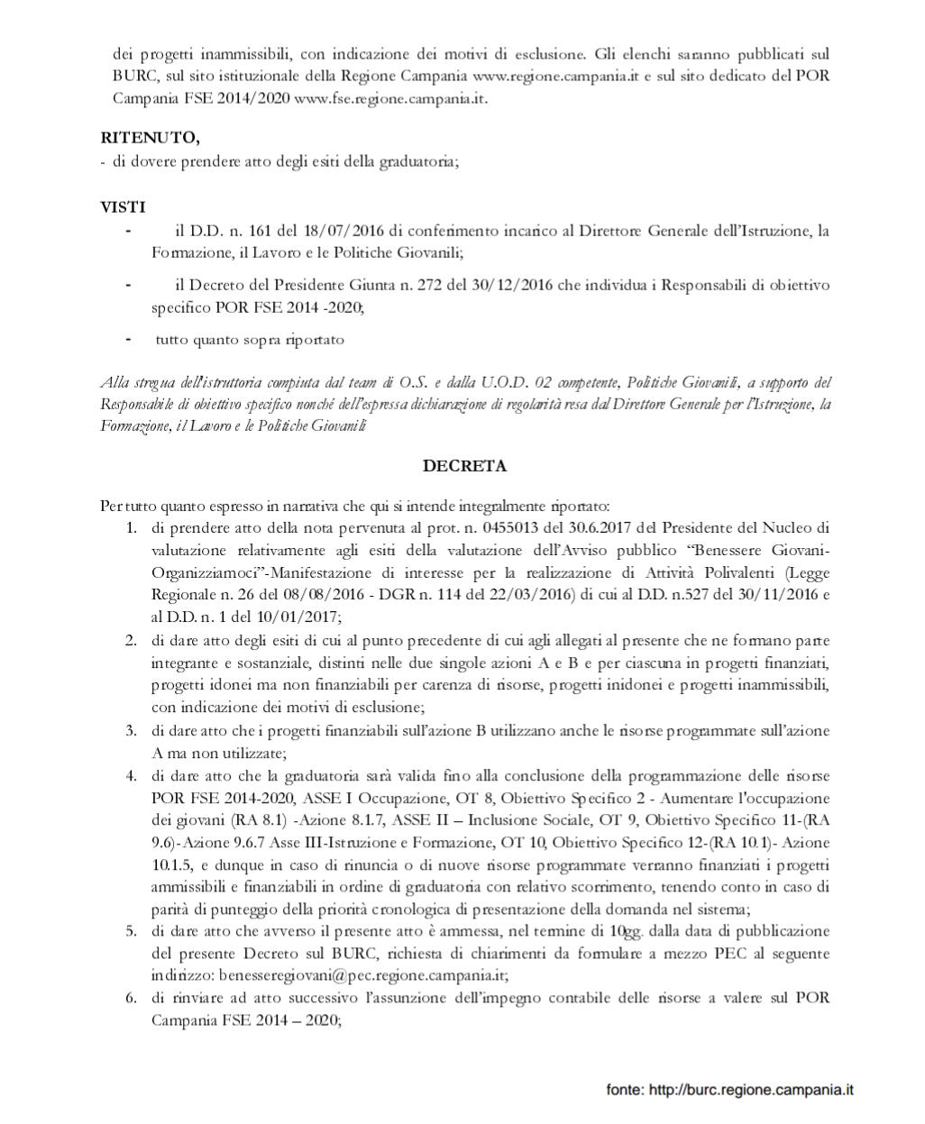 Decreto regione3