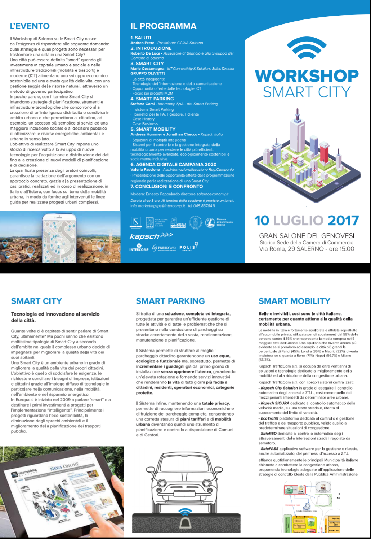 Workshop Smart City Salerno