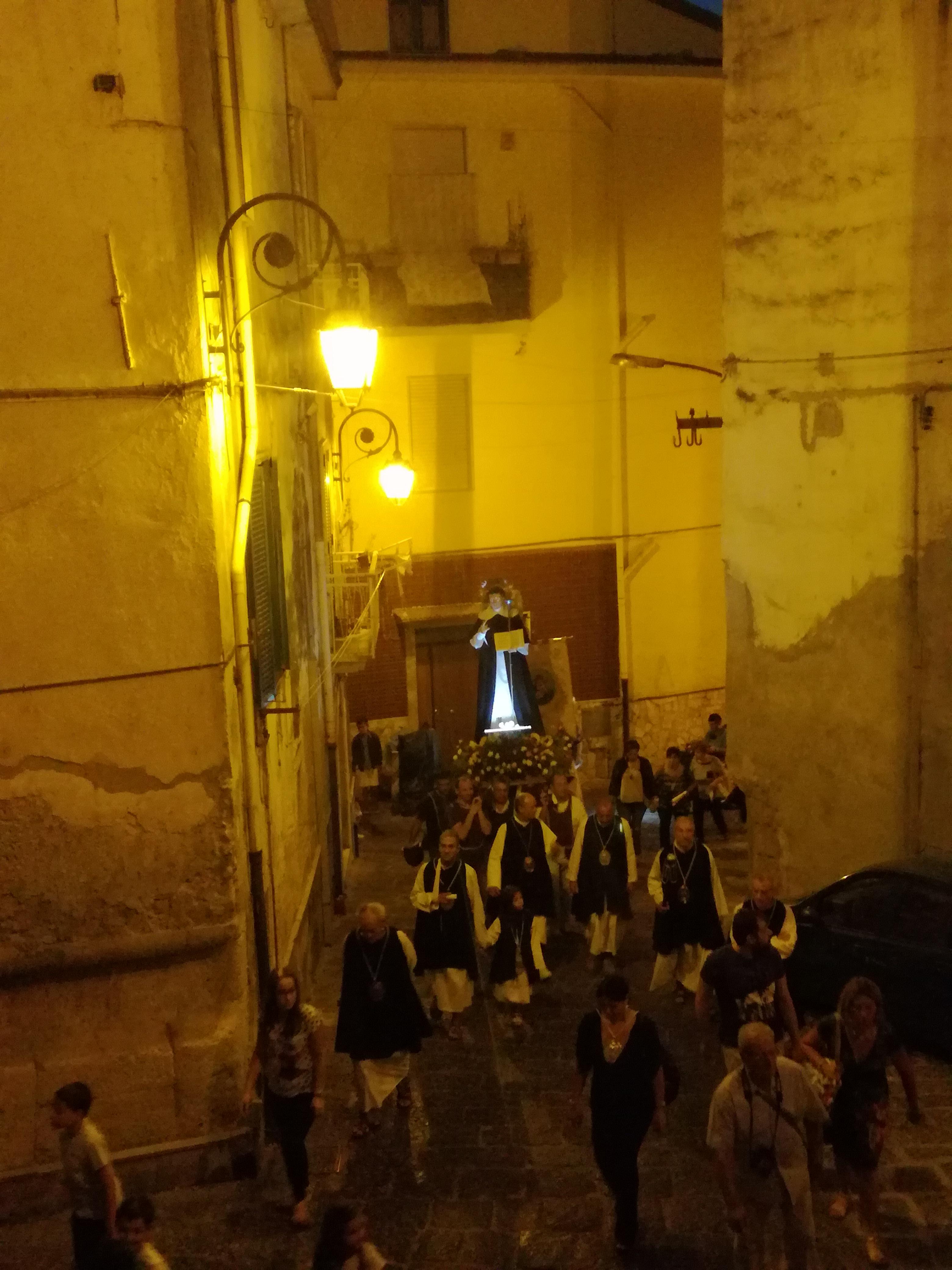 processione della Madonna del Carmine-San Vincenzo