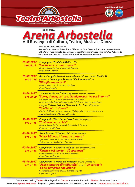 Arena Arbostella-rassegna teatrale all'aperto