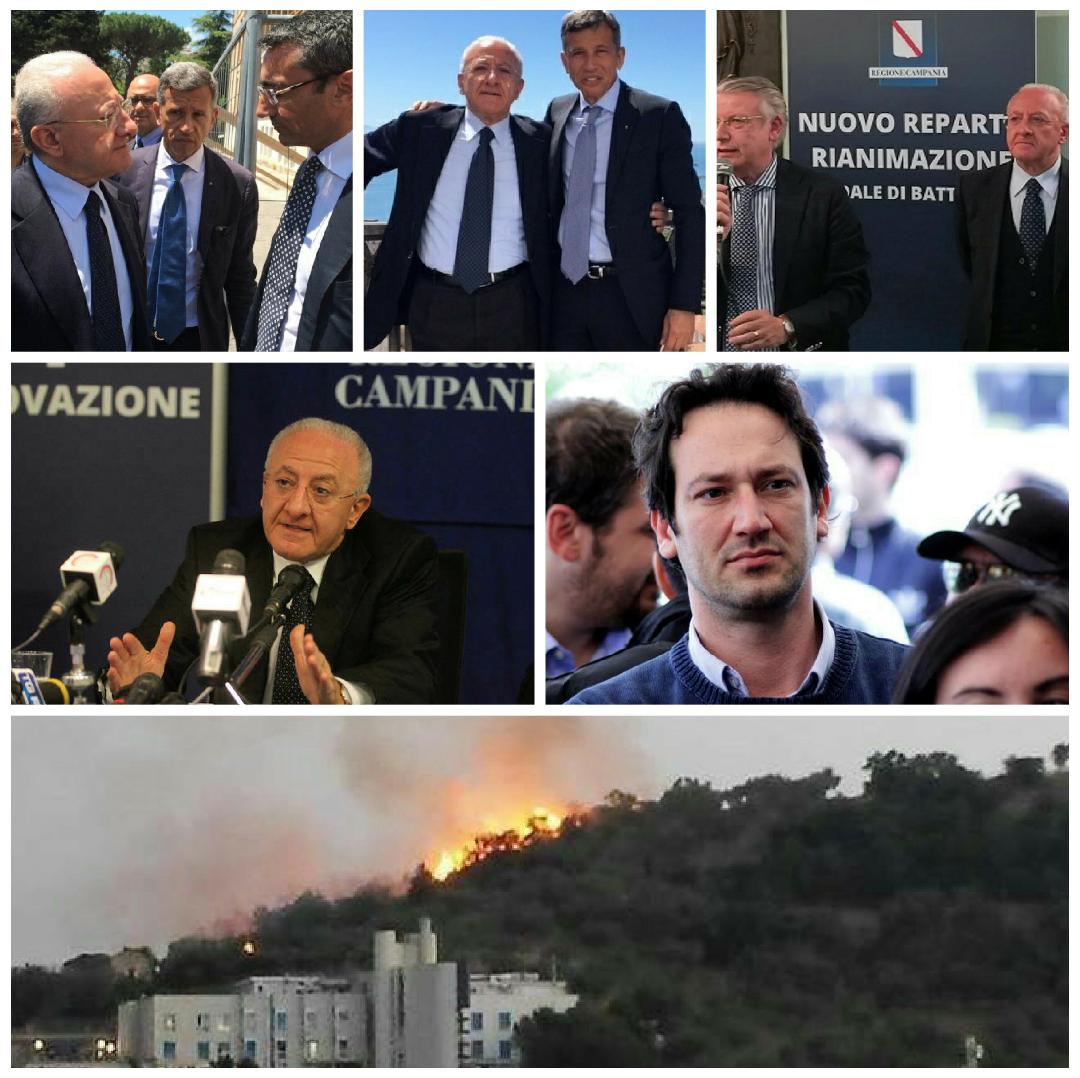 De Luca-coscioni-cantone-giordano-cammarano-incendio cilento