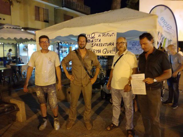 No impianto compostaggio a Battipaglia-comitato-Cammarano