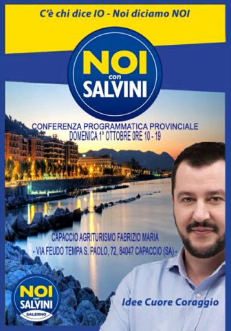 Noi con Salvini-Capaccio-Paestum