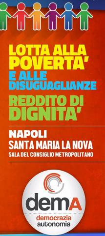 Dema-lotta alla povertà-Napoli