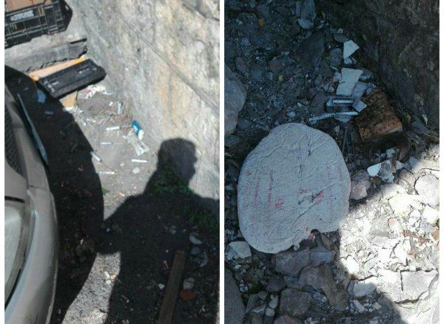 Degrado-rifiuti protesta popolare salernitana