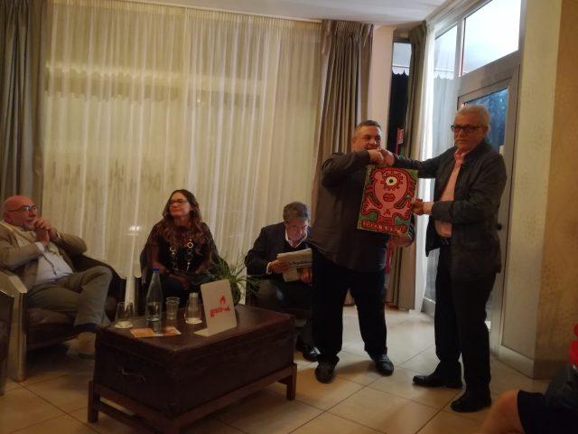 Alfonso Iaccarino-Bruno De Concilis-Matistella-Di Martino-Antonio Corbo-premiazione