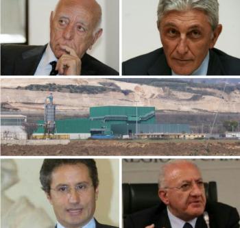 Rastelli-Bassolino-Impianto STIR-Caldoro-De Luca