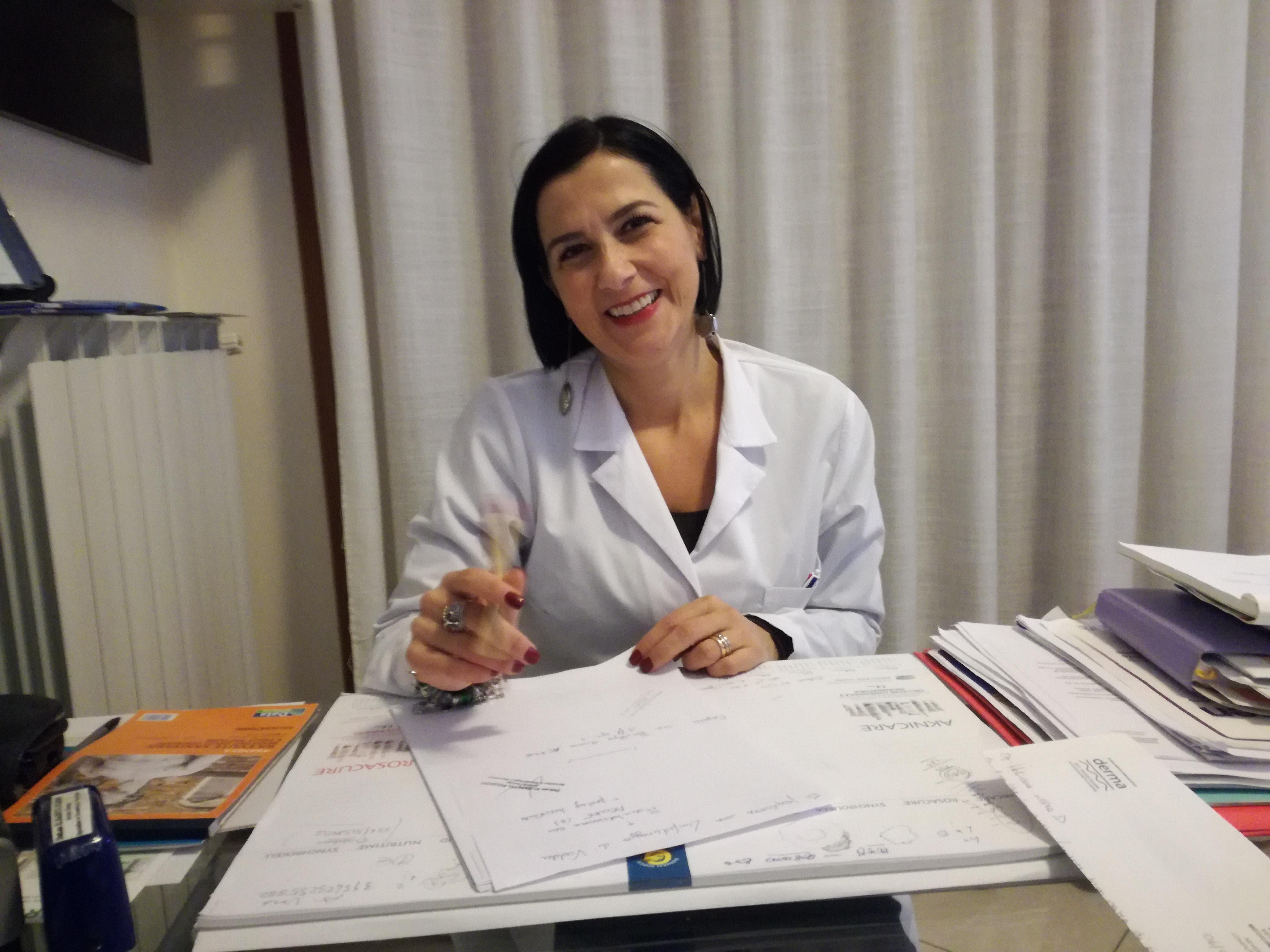 La Dermatologa Ebolitana Elisabetta Fulgione Ritorna Su Rai1 A Buongiorno Benessere Politicademente Il Blog Di Massimo Del Mese