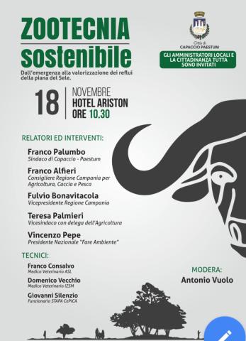 Zootecnia sostenibile-Convegno-Capaccio