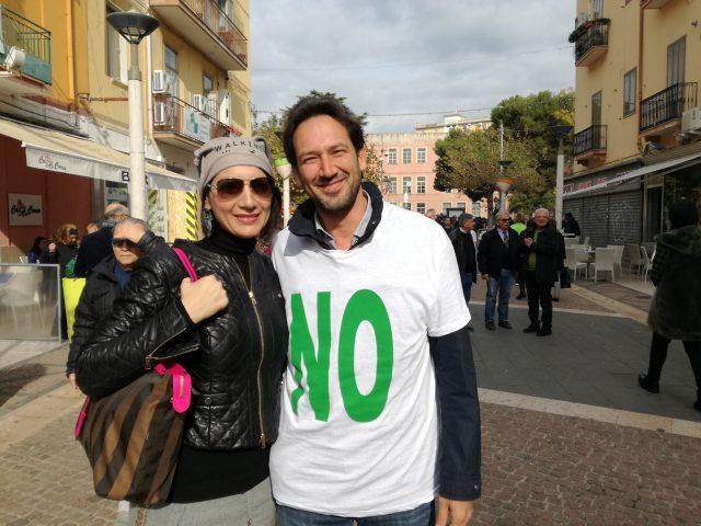 Passeggiata No compostaggio Battipaglia-Michele Cammarano