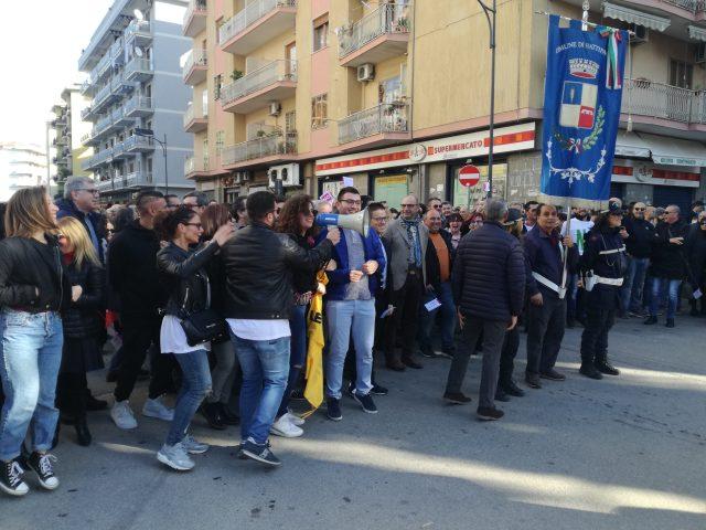 sciopero battipaglia No compostaggio6