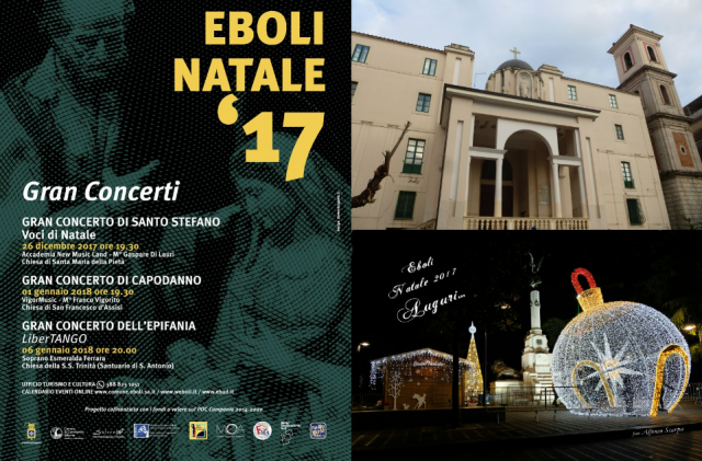 Eboli Natale 2017-Gran concerti