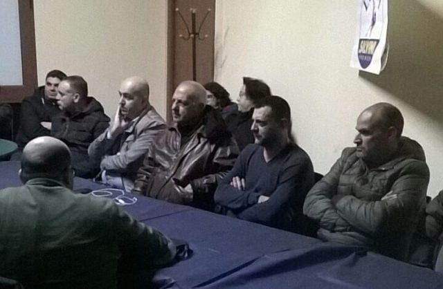 Immigrati a Eboli-Noi con Salvini