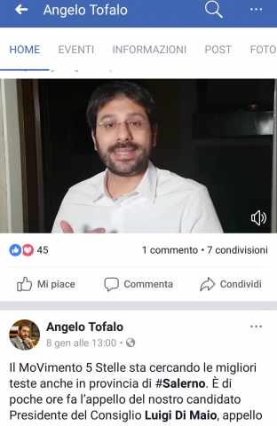 Angelo Tofalo-post-Facebook