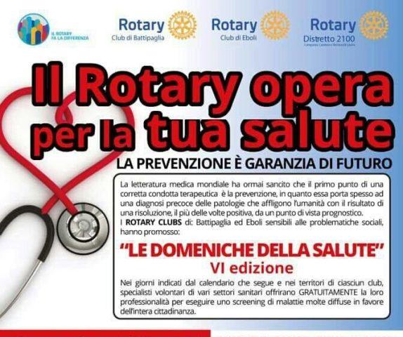Le Doneniche della Salute-Rotary-Eboli-Battipaglia