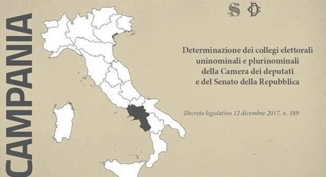 Elezioni politiche 2018- Campania