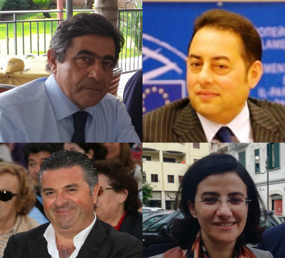 Mimmo Volpe-Gianni Pittella-Franco Alfieri-Angelica Saggese
