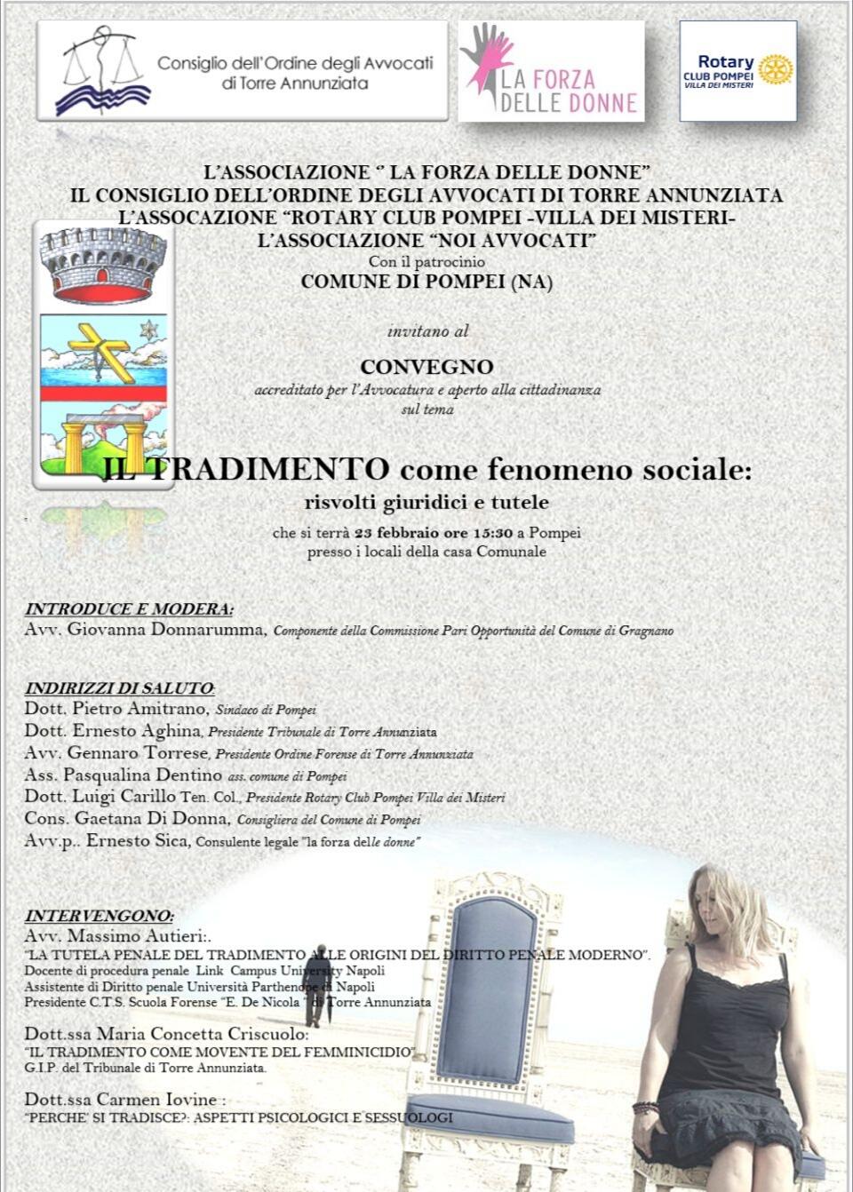 Pompei-Convegno-Il Tradimento