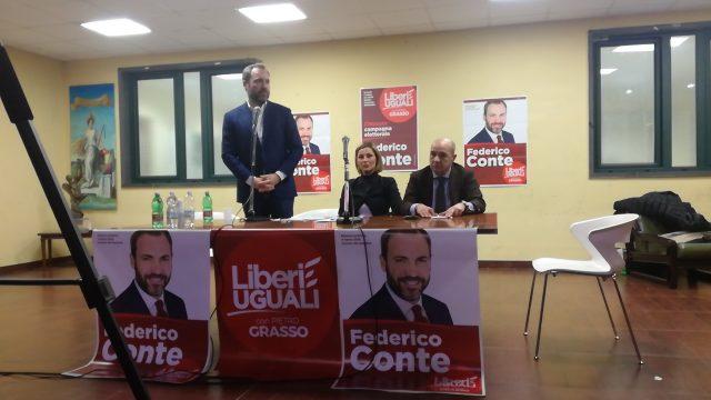Federico Conte-chiusura campagna elettorale- Battipaglia