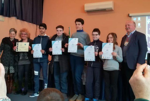 Premiazione alunni Scuola Fiorentino Battipaglia-giochi matematici