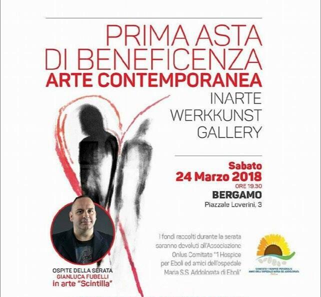 Asta di beneficenza-Bergamo