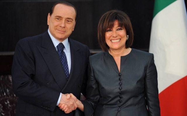Silvio Berlusconi-Maria Elisabetta Casellati