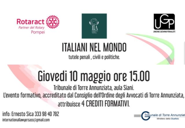 Italiani nel mondo seminario Torre Annunziata