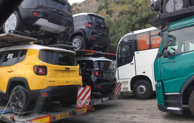 Fermo-Autotrasportatori-Porto Salerno
