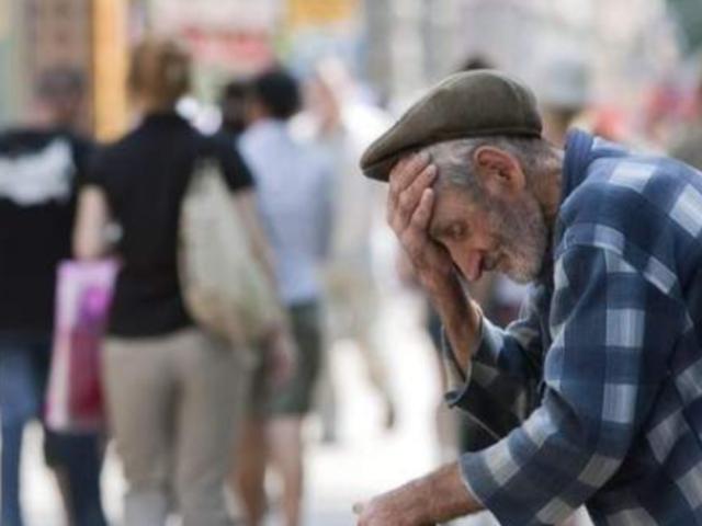 Pensionati e pensioni da fame