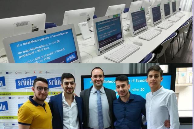 Mediateca-Nuova Scuola-Staff
