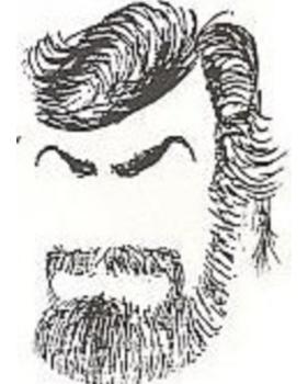 Giovanni Goria senza occhi e bocca