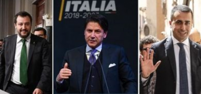 Salvini-Conte-Di Maio