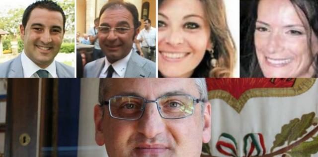 Nuovi assessori-Busillo-Masala-Senatore-Albano-Cariello
