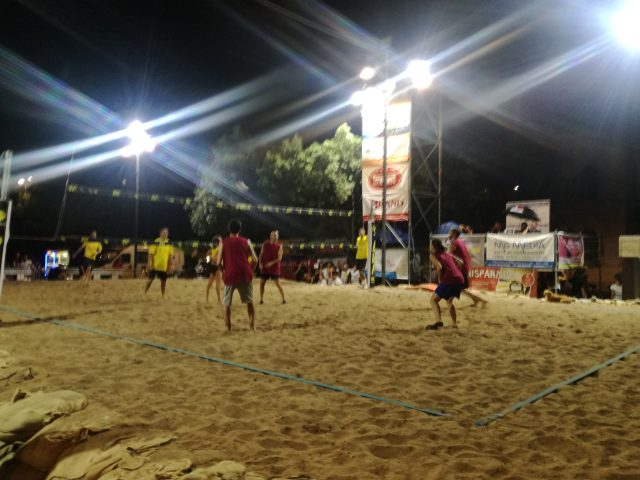 beach eboli 2018 torneo