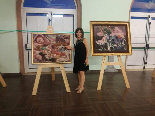 Rosaria Gaeta-Mostra Carlo Levi Eboli Elaion