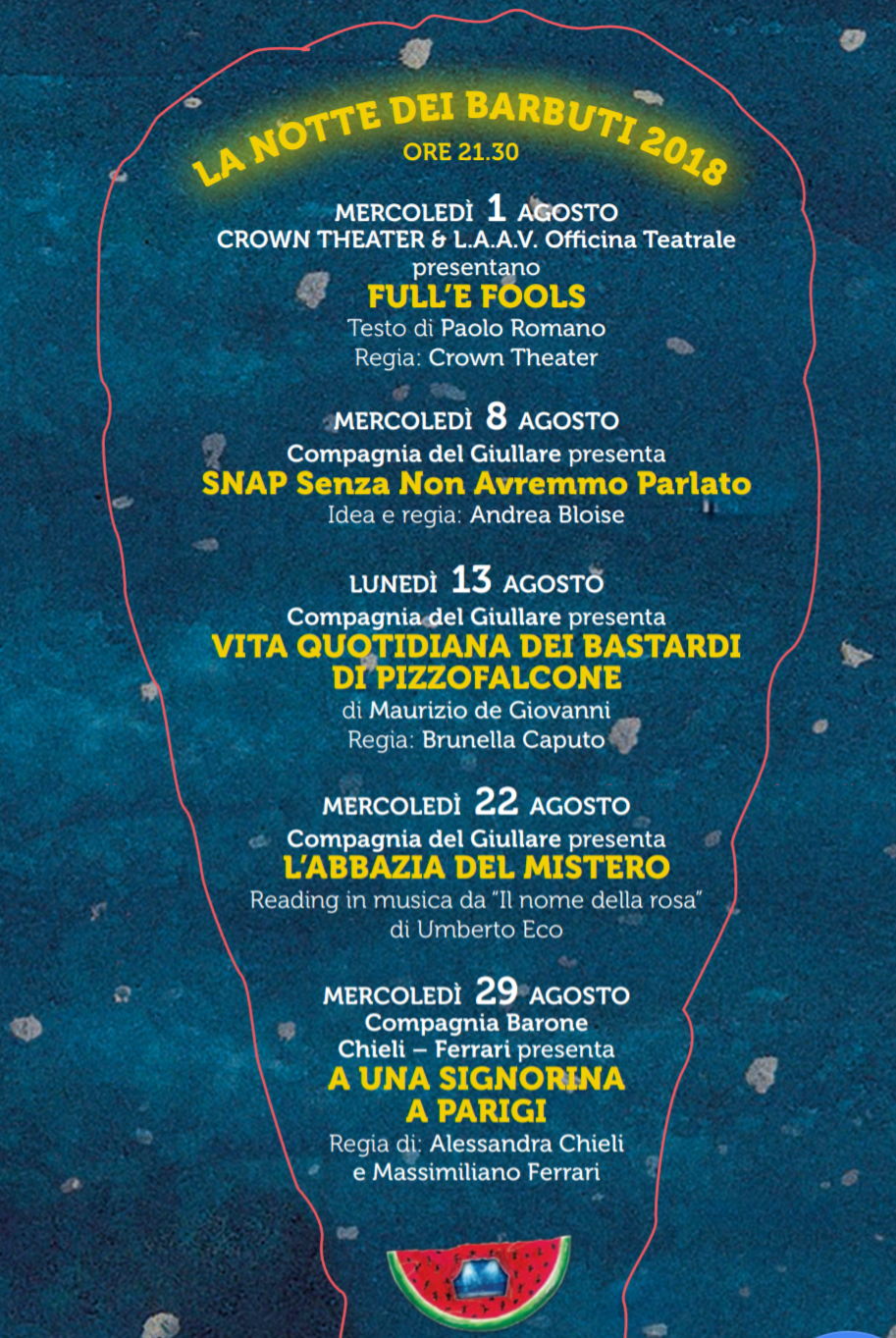 Barbuti Festival 2018 Salerno-Programma