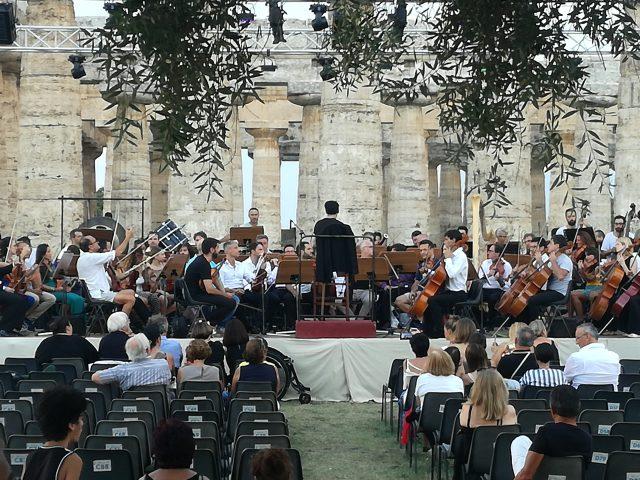 Ezio Bosso-Concerto-Paestum-prove-1