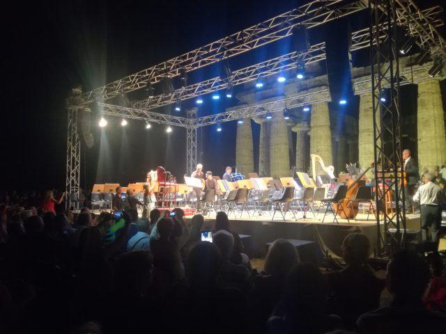 Ezio Bosso-Concerto-Paestum-palco