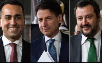 Di Maio-Conte-Salvini