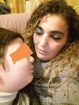 Lucia Toriello e il suo bambino