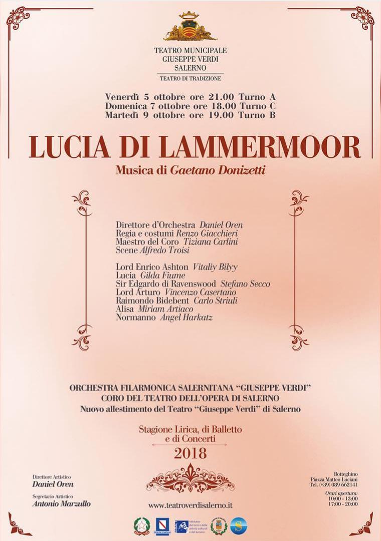 Lucia di Lammermoor-Teatro Verdi-Salerno