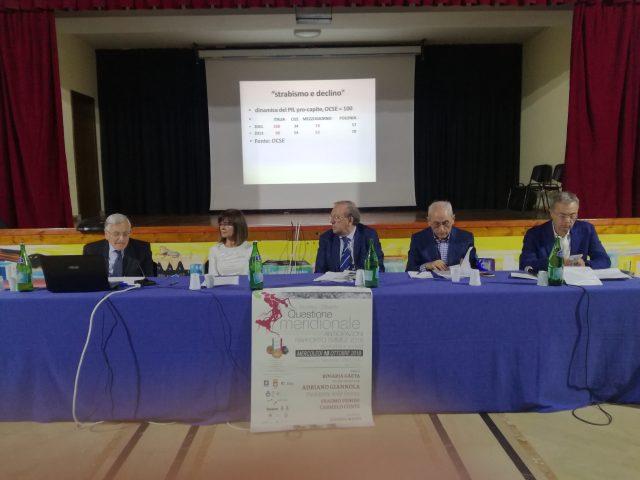 Convegno rapporto Svimez-Giannola-Gaeta-Venosi-Conte-Manzi