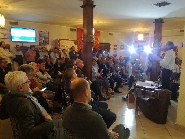 Matteo Richetti-Hotel Grazia-Eboli-pubblico
