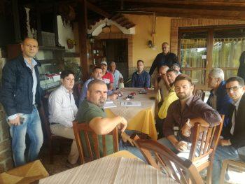 Summit Lega Eboli con Mariano Falcone