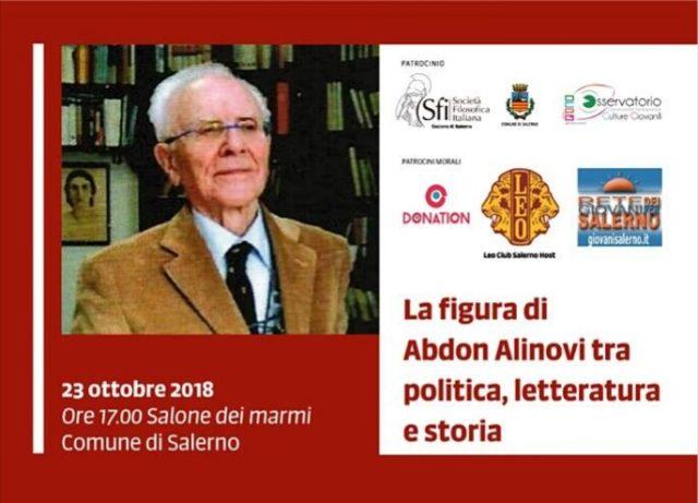 Salerno-omaggio ad Abdon Alinovi