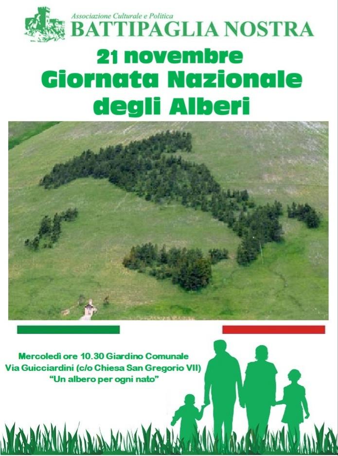 Giornata nazionale degli alberi-battipaglia nostra