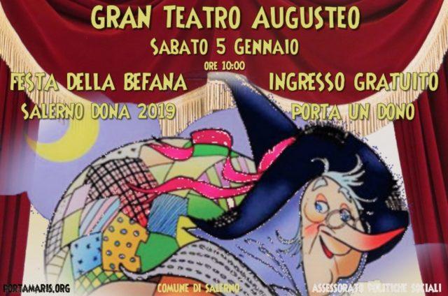 Festa della Befana-Salerno dona
