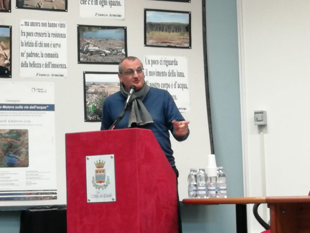 Massimo Cariello convegno da Eboli a Matera